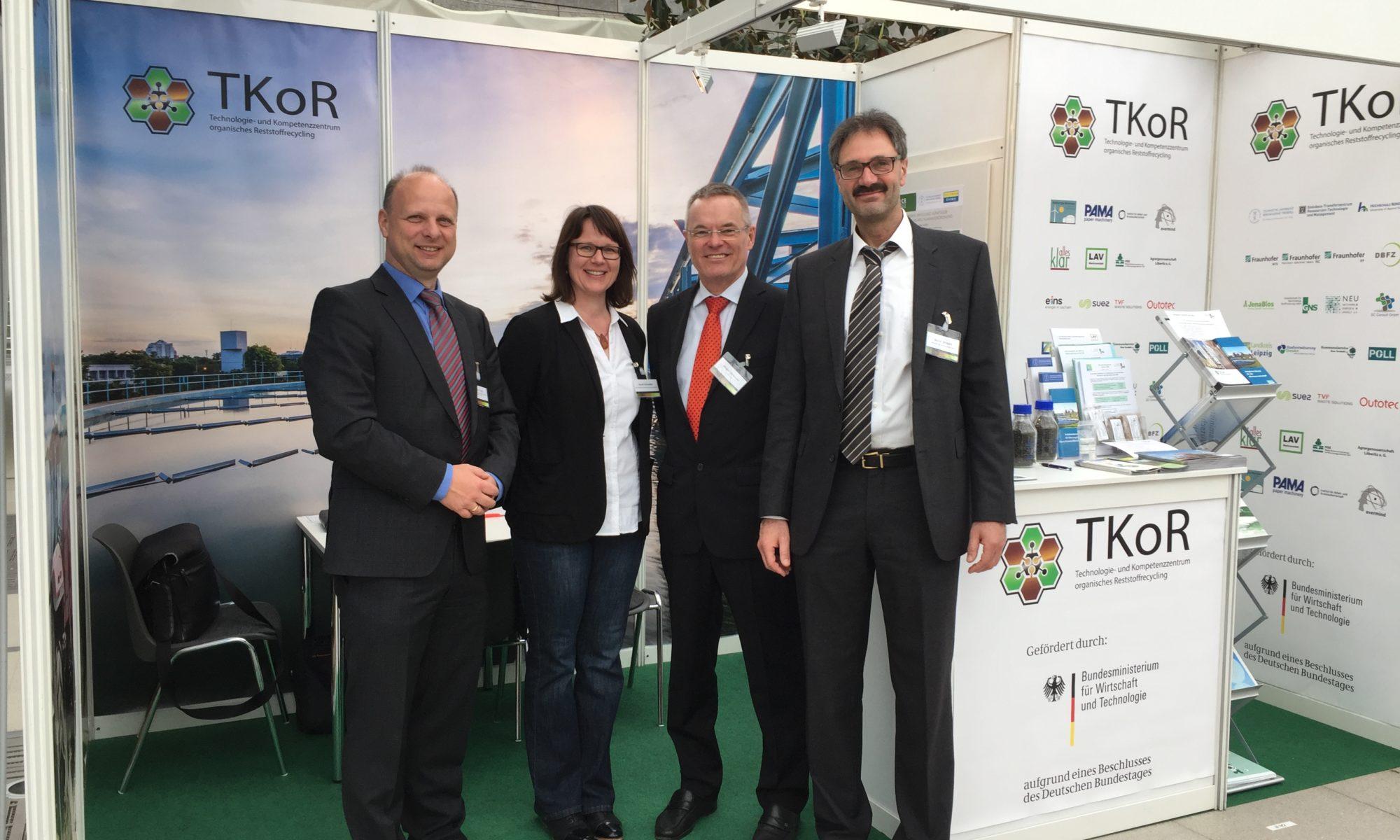 C. Friede (MSE), A. Schindler (LAV), J. Sörensen (SC Consult) und B. Simbach (POLL) - Foto: evermind GmbH/Irina Kleshch